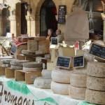 Cheese Stall Sarlat Market